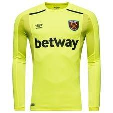 west ham united goalkeeper shirt home 2017/18 - football shirts