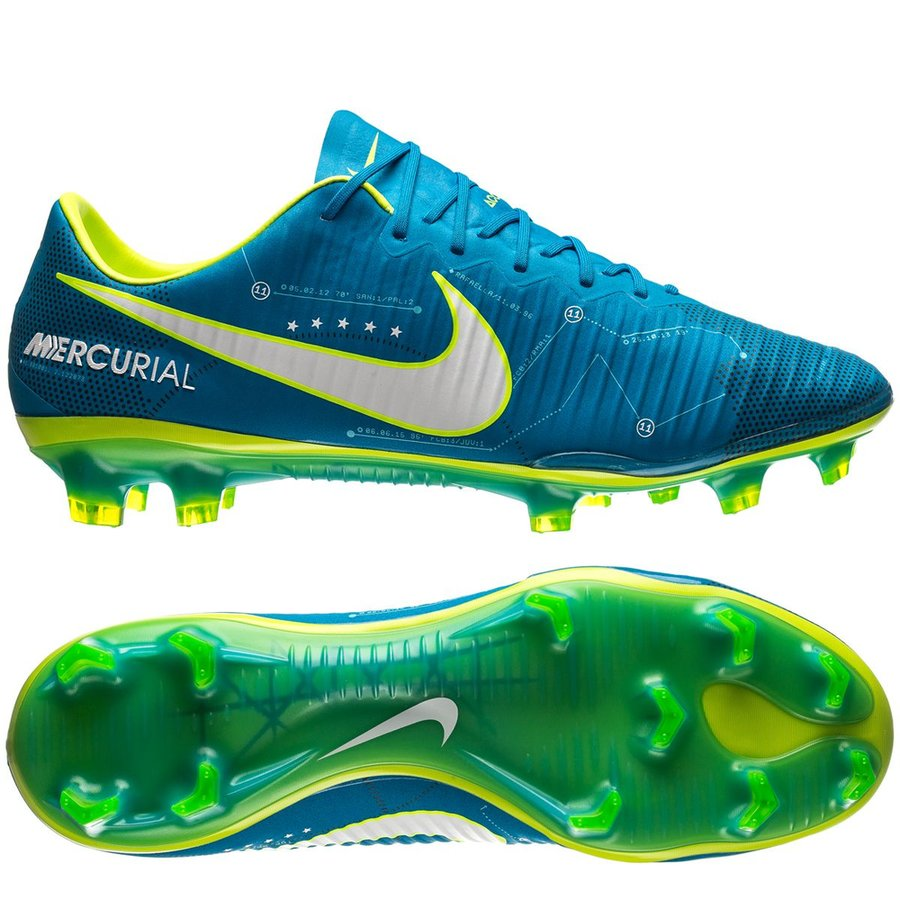 Nike Mercurial Vapor Blå Græs (FG)