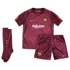 barcelona third shirt 2017/18 mini-kit kids - football shirts