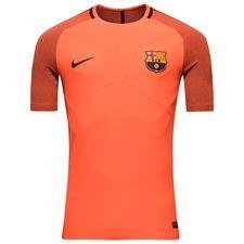 barcelona trænings t-shirt aeroswift strike - orange/bordeaux - træningstrøjer