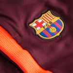 barcelona trainingshose flex strike - bordeaux/orange - trainingshosen