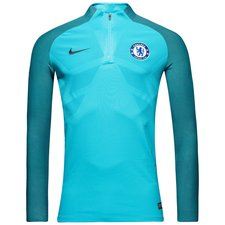 chelsea training shirt aeroswift strike drill - omega blue/anthracite - training tops