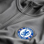 chelsea track top nsw authentic - grå/blå - track tops
