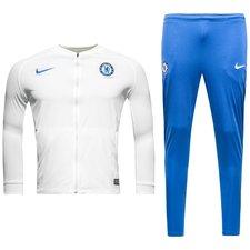 Chelsea Trainingspak Dry Squad Knit - Wit/Blauw Kinderen