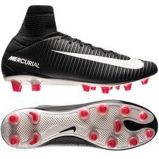 Nike Mercurial Veloce III DF AG-PRO Pitch Dark - Zwart/Wit/Rood