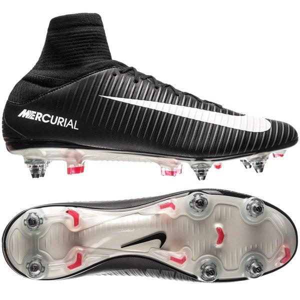 Nike Mercurial Veloce III DF SG PRO Pitch Dark NoirBlancRouge