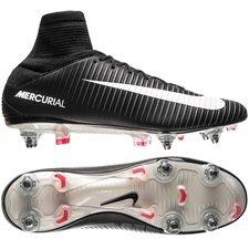 Nike Mercurial Veloce III DF SG-PRO Pitch Dark - Zwart/Wit/Rood