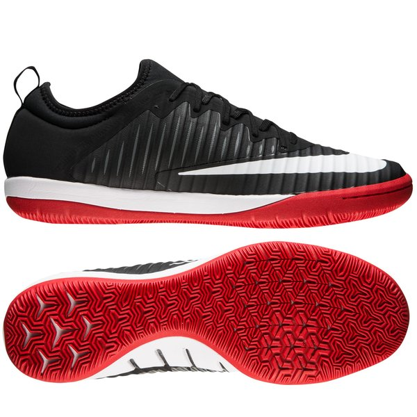 finest selection b940b 28084 Nike MercurialX Finale II IC Pitch Dark - Sort Hvit Rød 0