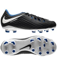 Nike Hypervenom Phelon 3 Pitch Dark Sort/Hvid/Blå Børn