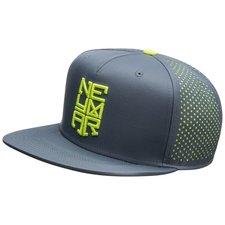 nike snapback neymar jr. - navy/neon - kasket