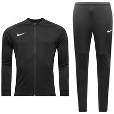 nike tracksuit dry squad knit - black/white - track suits