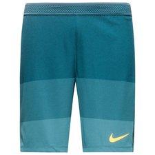 nike training shorts aeroswift strike - space blue/laser orange - training shorts