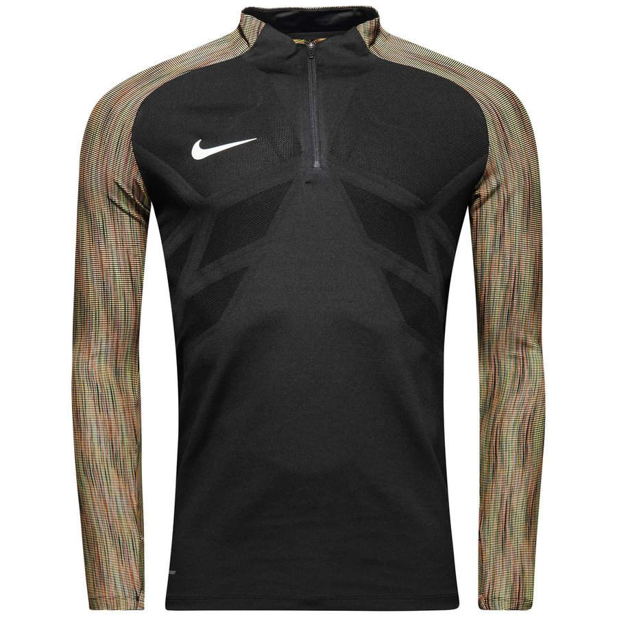 Haut Nike Aeroswift Drill Blanc Noir Vêtements de