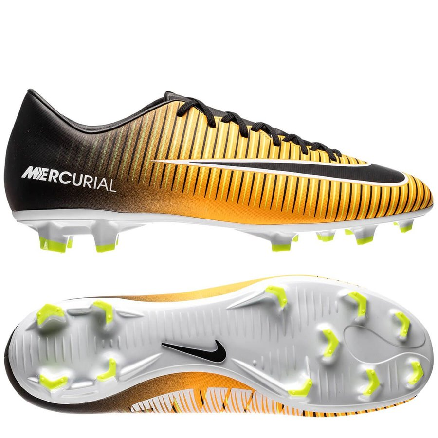 buy online c1ac5 00a5c Nike Mercurial Victory VI FG Lock in. Let loose. - Laser Orange Black White    www.unisportstore.com