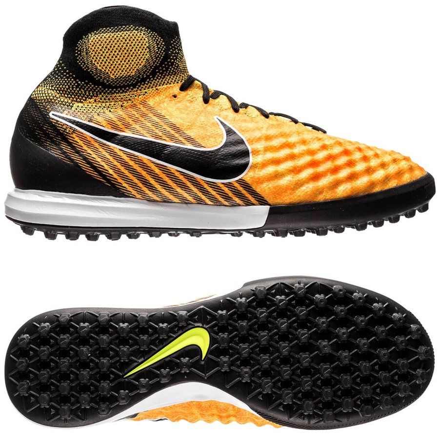 sale retailer 09b88 c9804 nike magistax proximo ii df tf lock in. let loose. - orange/schwarz image  shadow