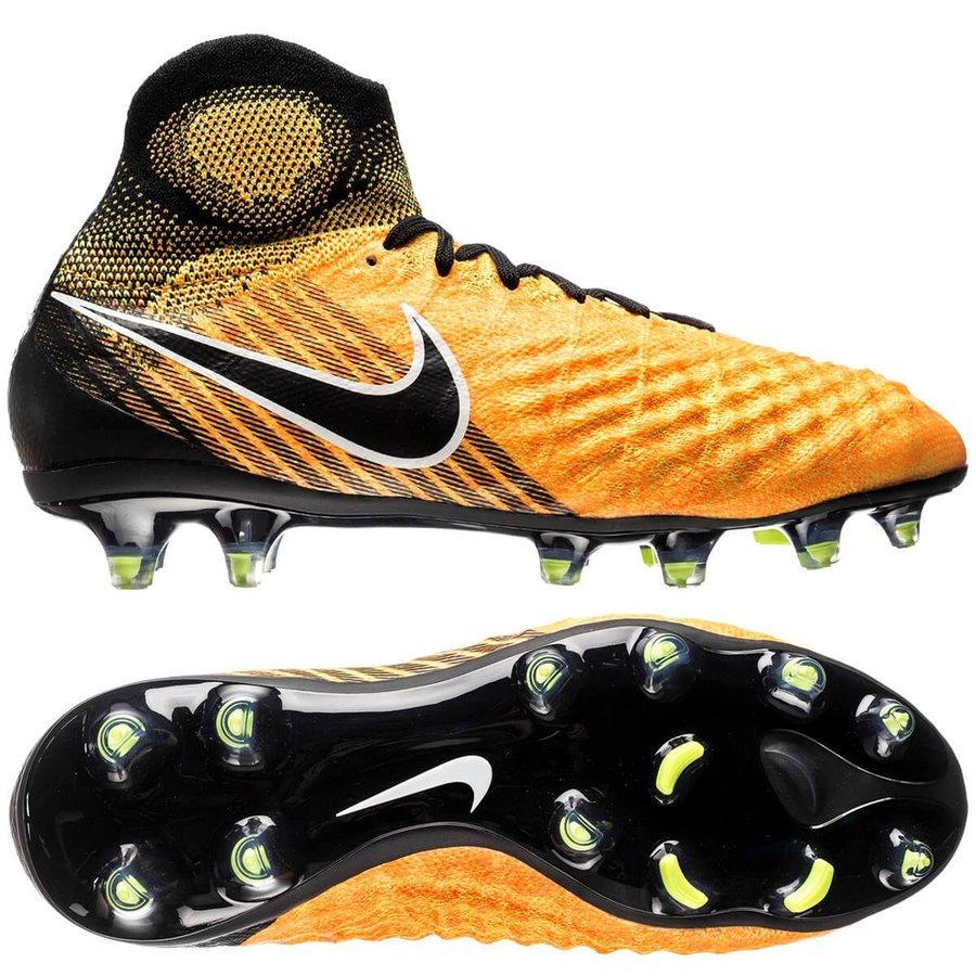 7cc6c55d1101 Nike Magista Obra II FG Lock in. Let loose. - Laser Orange Black ...