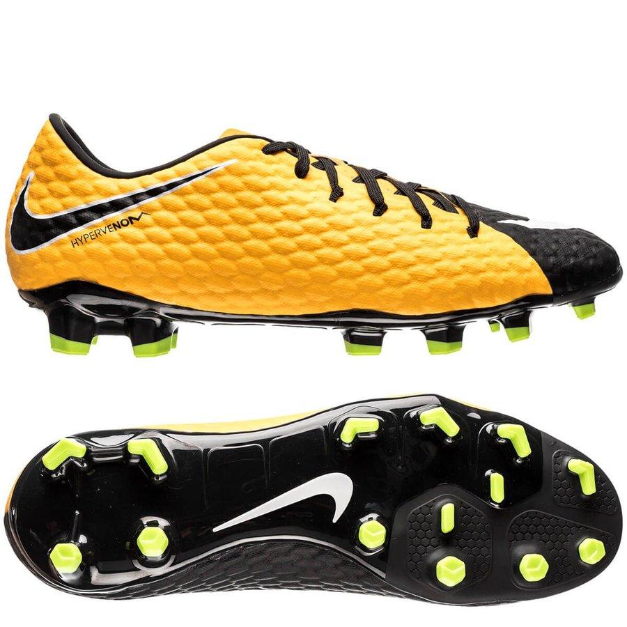 Nike Hypervenom Phelon 3 FG Lock in. Let loose. - Orange/Hvid/Sort