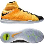 Nike HypervenomX Proximo II DF IC Lock in. Let loose. - Orange/Blanc/Noir