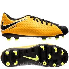 Nike Hypervenom Phade 3 Lock in. Let loose. Orange/Hvid/Sort Børn