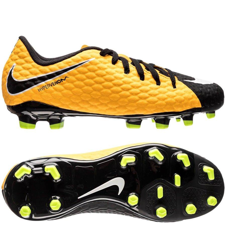 Nike Hypervenom Phelon 3 FG Lock in. Let loose. - Orange/Hvid/Sort Børn