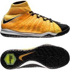 Nike HypervenomX Proximo II DF IC Lock in. Let loose. - Oranje/Wit/Zwart Kindere
