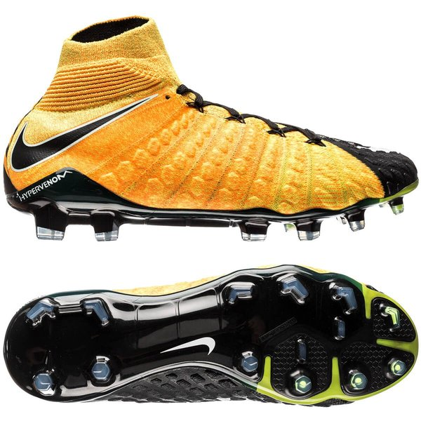 Nike Hypervenom Phantom 3 DF FG Lock in. Let loose. OrangeBlancNoir
