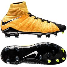 Nike Hypervenom Phantom 3 DF Lock in. Let loose. Orange/Hvid/Sort Børn