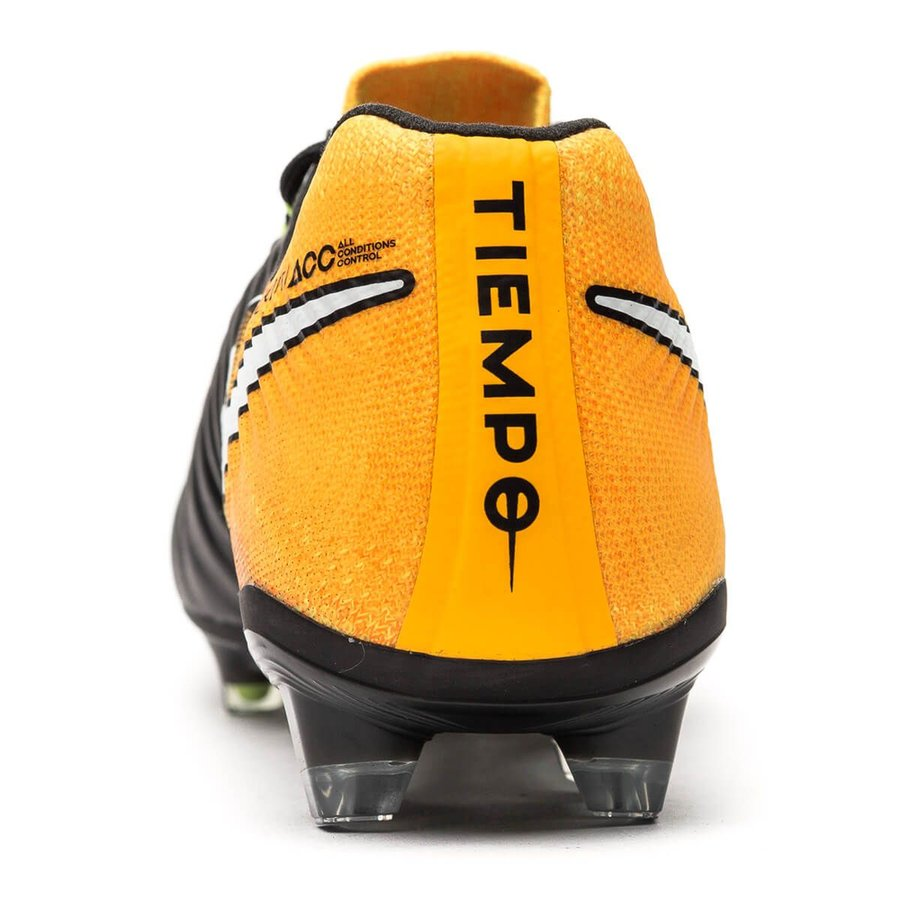 24112910fa608 Nike Tiempo Legend 7 FG Lock in. Let loose. - Black White Laser Orange