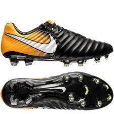 Nike Tiempo Legend 7 Lock in. Let loose. Sort/Hvid/Orange