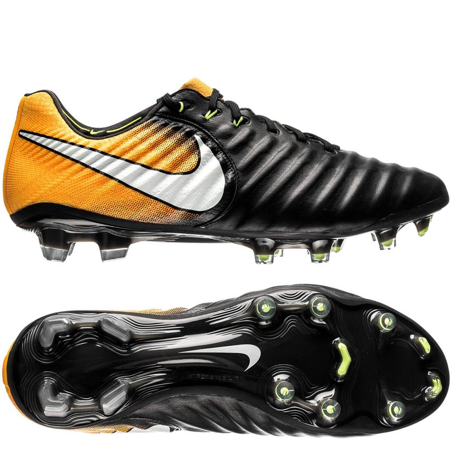 a6d443fd1006 Nike Tiempo Legend 7 FG Lock in. Let loose. - Black/White/Laser Orange |  www.unisportstore.com