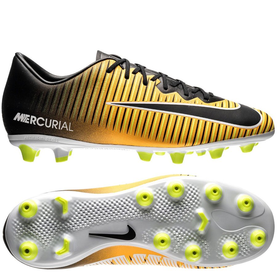 nike mercurial vapor xi ag-pro lock in. let loose. - laser orange