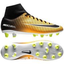 Nike Mercurial Victory VI DF AG-PRO Lock in. Let loose. - Oranje/Zwart/Wit