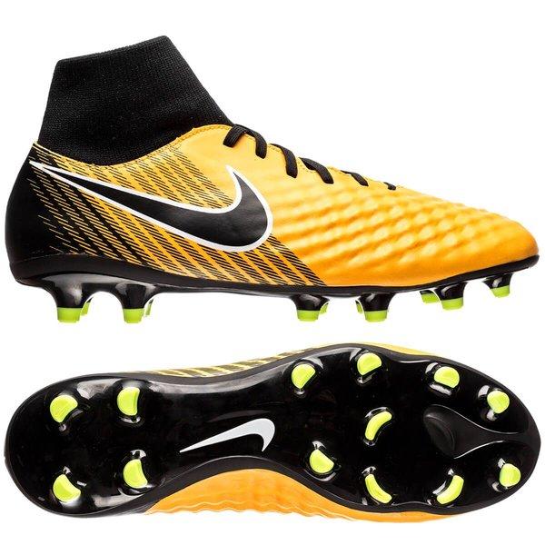 save off 91de0 bd247 Nike Magista Onda II DF FG Lock in. Let loose. - Orange/Noir/Blanc ...