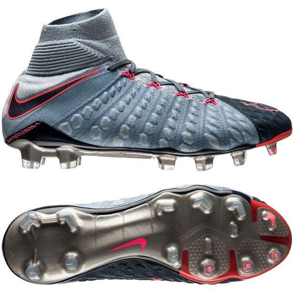 Nike Hypervenom Phantom 3 DF FG Rising Fast Blå