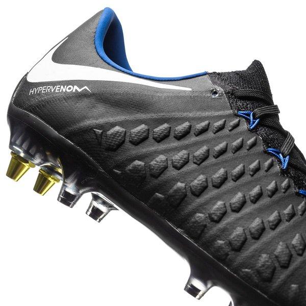 226bd979149 Nike Hypervenom Phantom 3 SG-PRO Anti-Clog Pitch Dark - Zwart/Wit ...