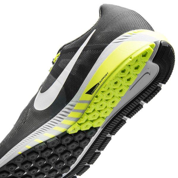 Nike Chaussures De Course Structure Zoom Air 21 - Gris / Blanc / Néon RsfCBfY