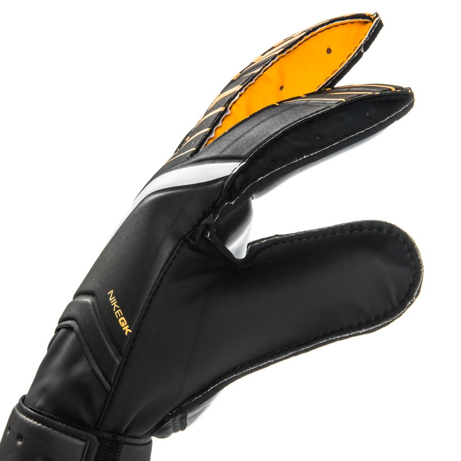 nike gants de gardien match fa noir orange blanc. Black Bedroom Furniture Sets. Home Design Ideas