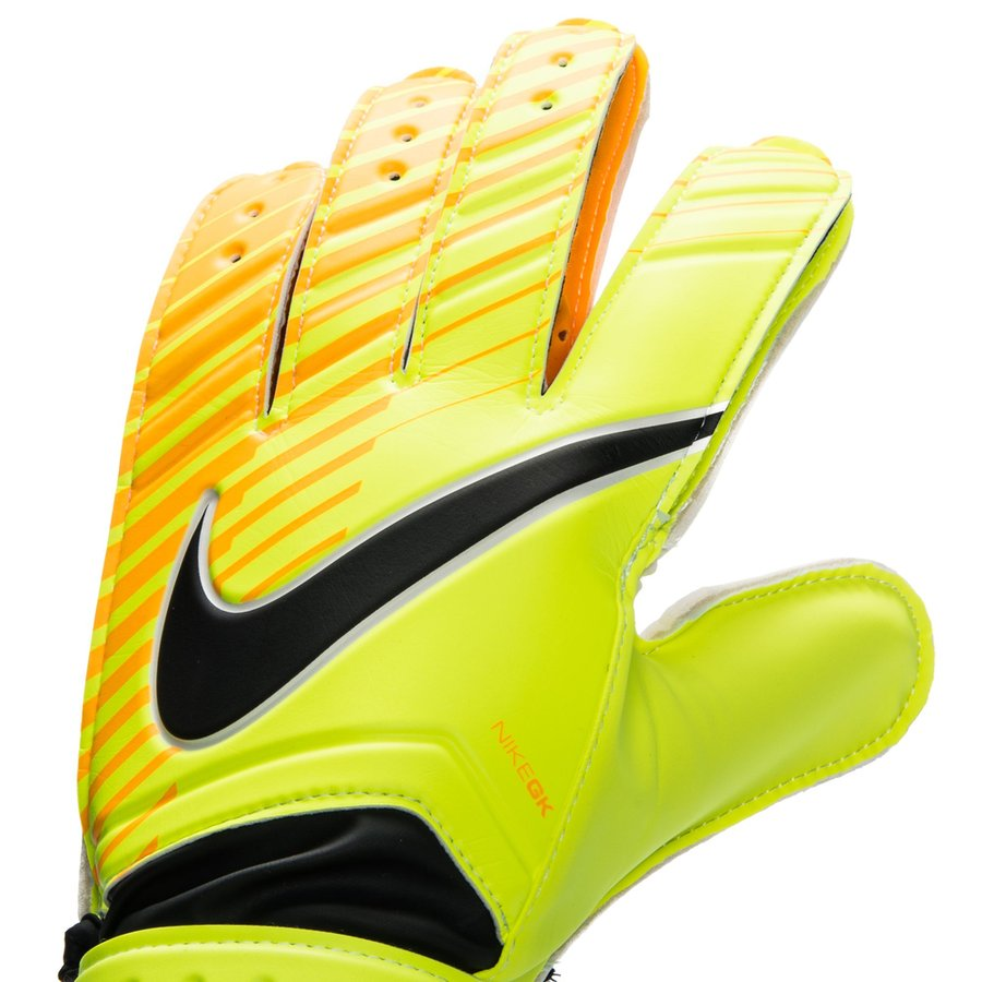 nike gants de gardien match fa jaune fluo orange noir. Black Bedroom Furniture Sets. Home Design Ideas