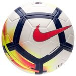 Nike Fodbold Ordem V Premier League - Hvid/Navy/Rød