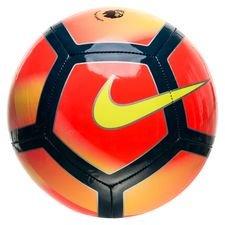 Nike Fodbold Pitch Premier League - Rød/Navy/Neon
