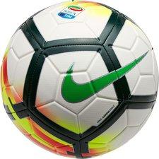 Image of   Nike Fodbold Strike Serie A - Hvid/Sort/Grøn