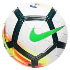 nike football strike serie a - white/black/green - footballs