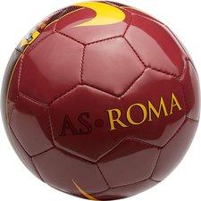 roma fodbold supporter - rød/sort/gul - fodbolde