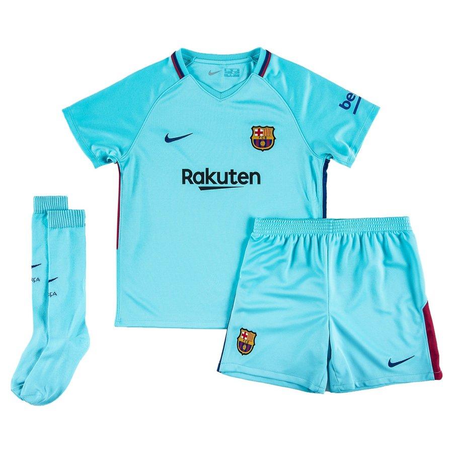 Barcelona Away Shirt 2017 18 Baby Kit Kids Www Unisportstore Com