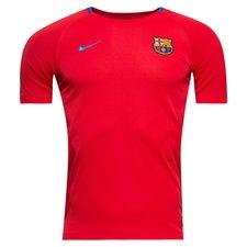 Barcelona Tränings T-Shirt Breathe Squad - Röd/Blå Barn