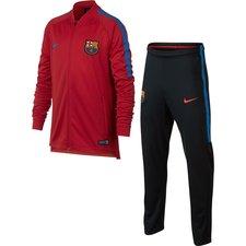 Barcelona Träningsoverall Dry Squad Knit - Röd Barn