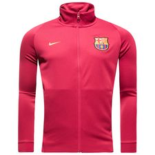 Barcelona Track Top NSW Authentic - Bordeaux/Guld Barn