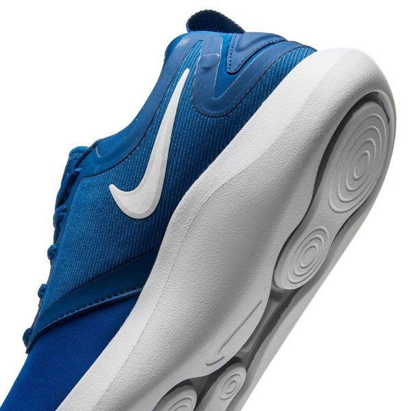Nike Chaussures De Course En Solo Lunaire - Enfants Bleu / Blanc / Noir hJOw027