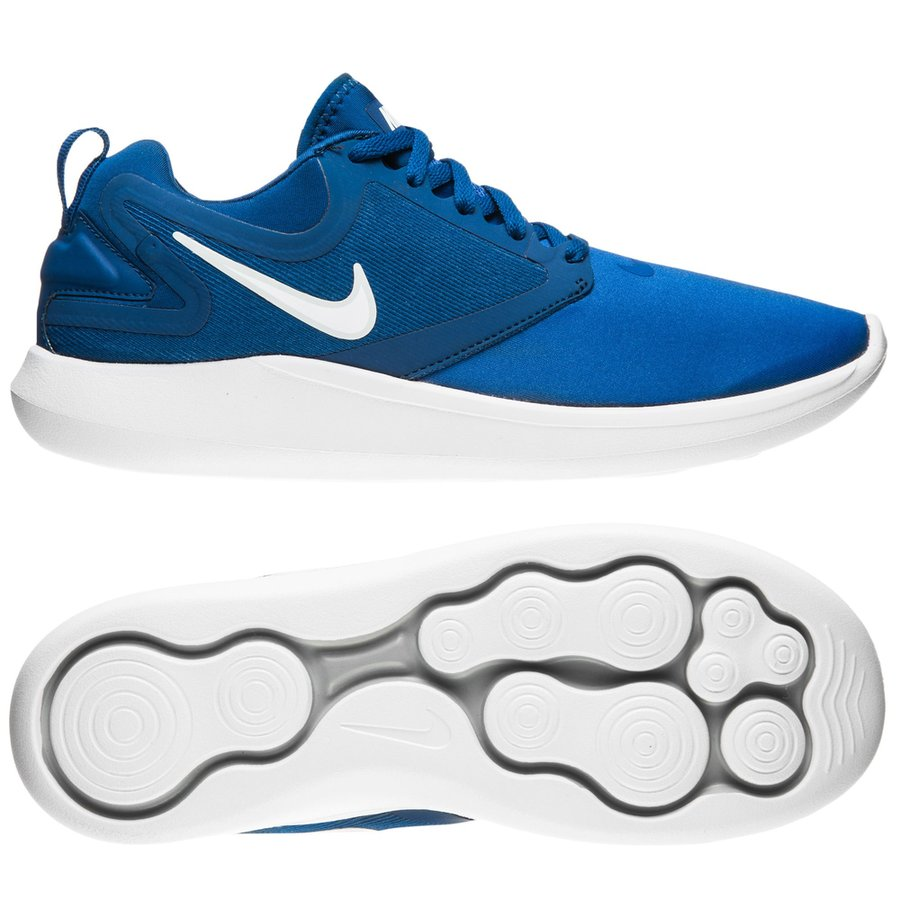 a831d9affdf7 nike running shoe lunarsolo - game royal white black kids - running shoes  ...