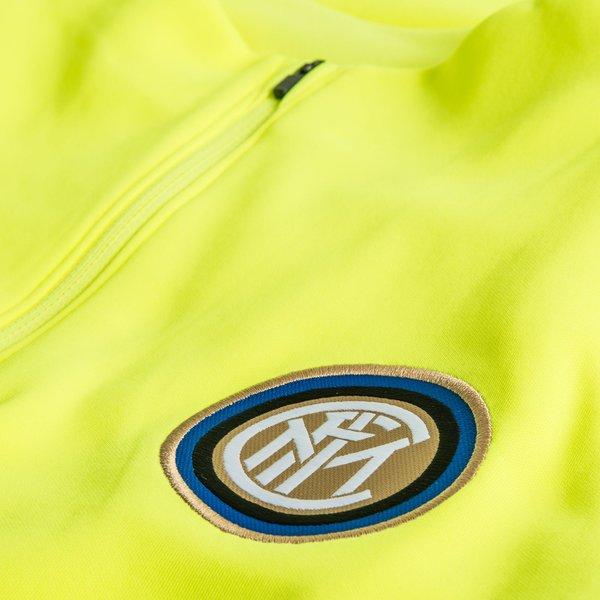 Inter Milan Maillot d'Entraînement Dry Squad Drill Jaune FluoBleu